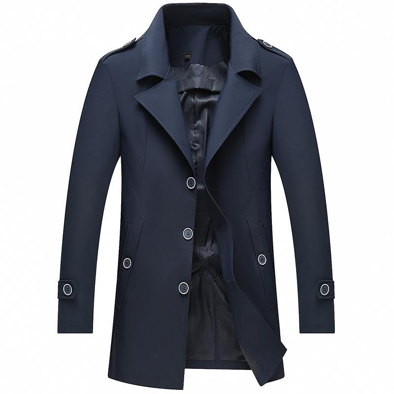 Men's Casual Turn-Down Collar Jacket