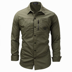 Casual Stylish Military Outdoor Work Shirt