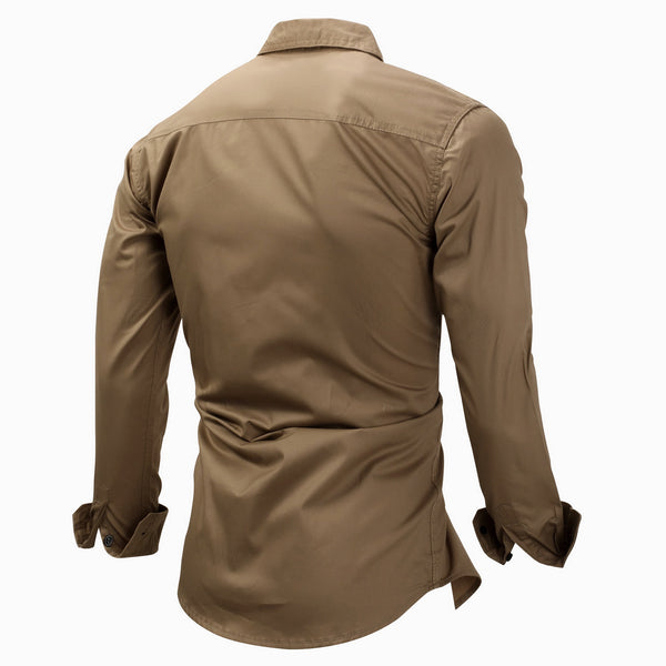 CASUAL STYLISH MILITARY OUTDOOR WORK SHIRT #002