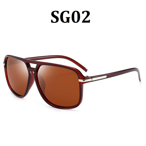 Unisex Polarized Aluminum Sunglasses Vintage Sun Glasses For Men
