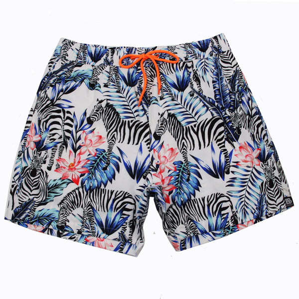 Animal Printed Beach Shorts