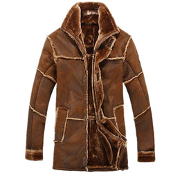 Men's Thicken Winter Suede Jacket