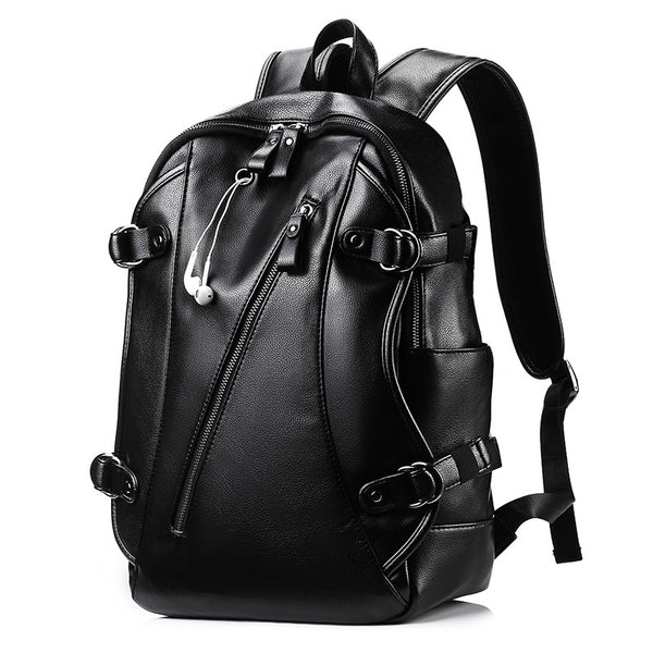 Men's External USB Charge Waterproof Backpack