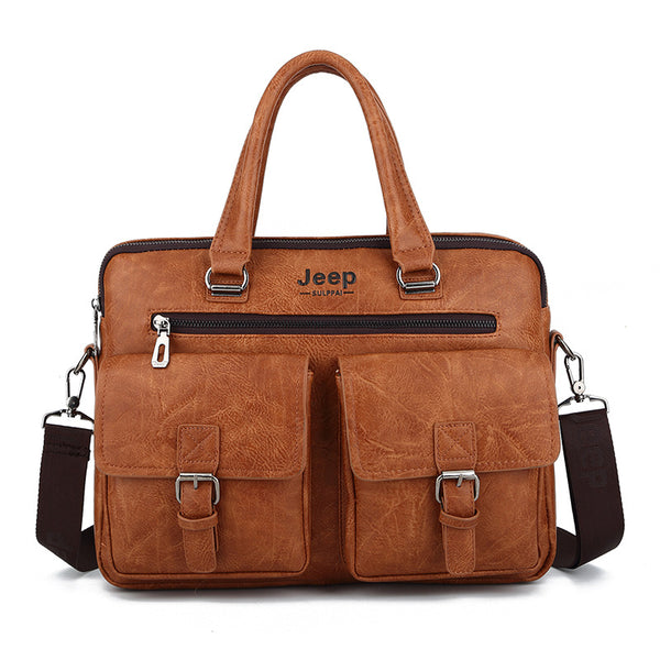High Quality Leather Office Business Bags