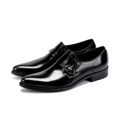 Men's Sanborn Genuine Leather Strap Loafers