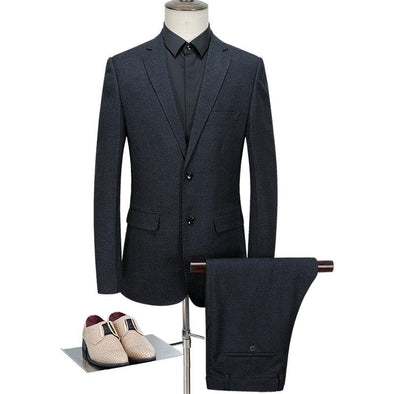 Men's Minimalism Classic Suits (Jacket+Pants)