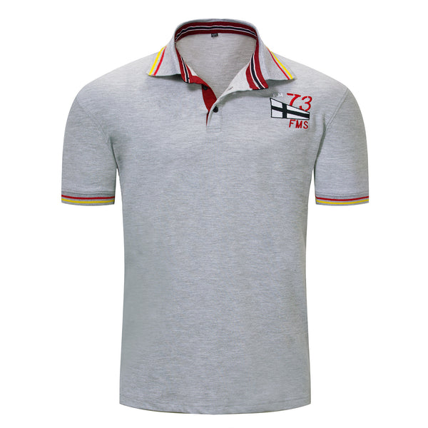 MEN'S 100% COTTON SHORT SLEEVES POLO SHIRT #003