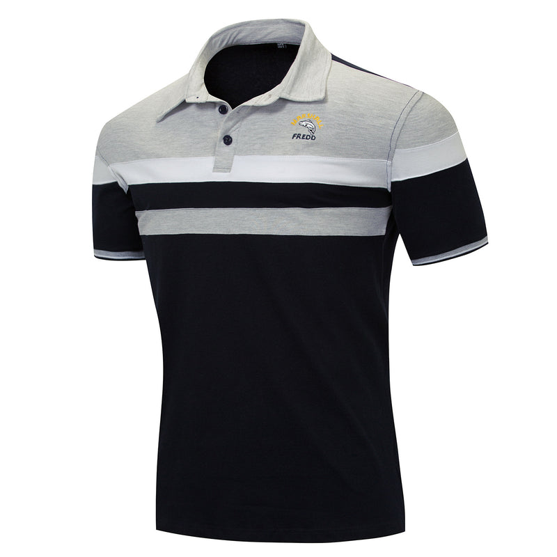 Men's 100% Cotton Short Sleeves Polo Shirt
