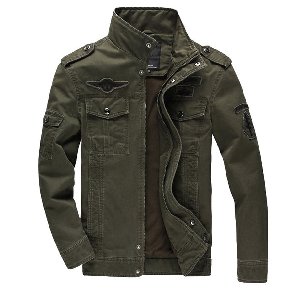 Men's Casual Military Jacket