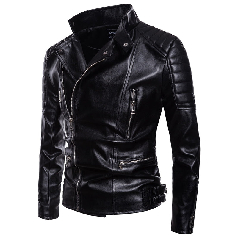 Men's Classic Genuine Leather Jacket