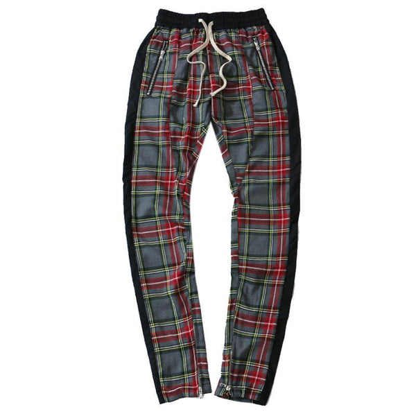 Men's Winter Fashion Cotton Super Soft Plaid Pant