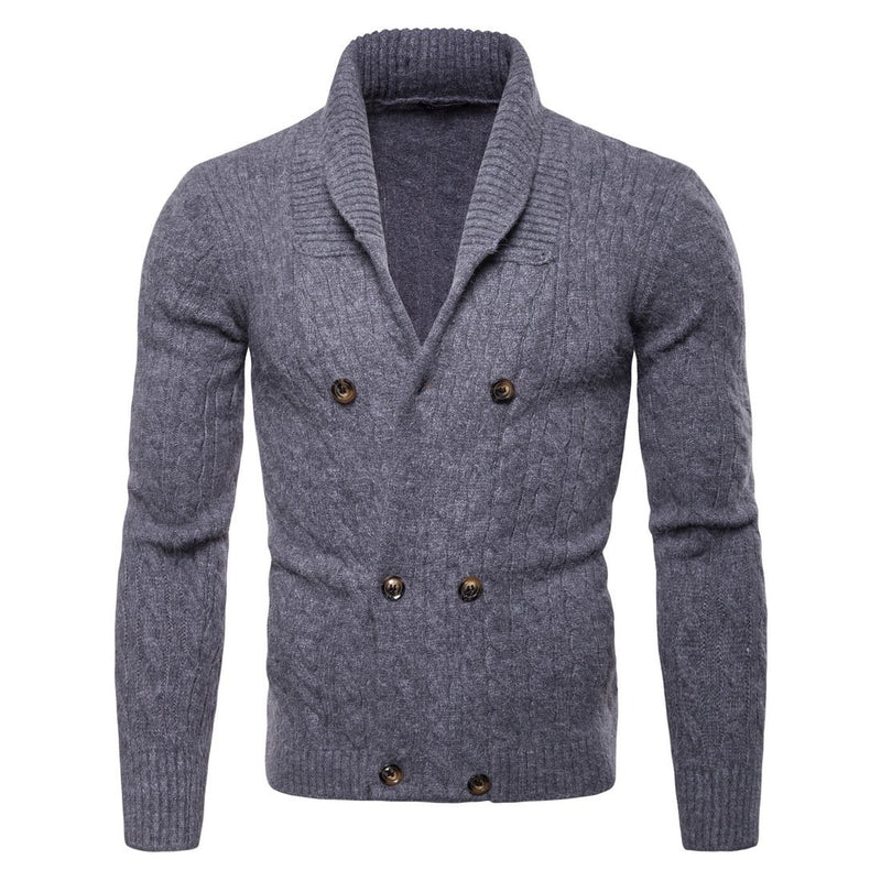 Men's Relax Fit V-Neck Cardigan Sweater