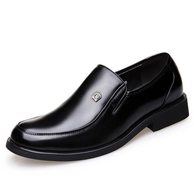 Men's Proposal Leather Slip-on Loafers