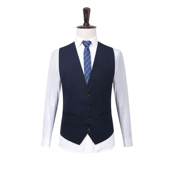 SHEEPMEN™ Men's Wool Luxury Stripe Suits (Jacket+Pants+Vest)