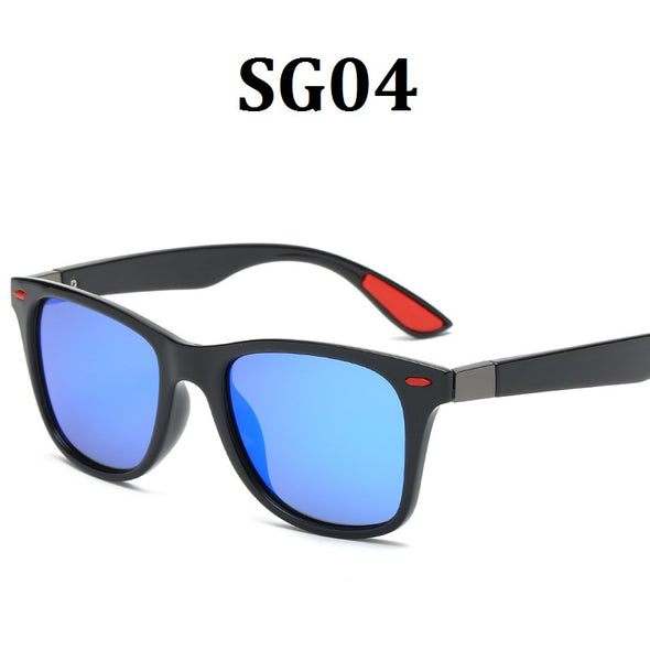 Polarized Sunglasses Retro Wayfarer Black HD Vision UV400 For Men