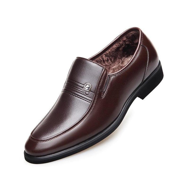 LRT Men's Warm Loafers With Fur
