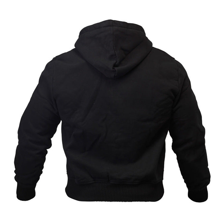 Men's 100% Cotton Sports Hoodie