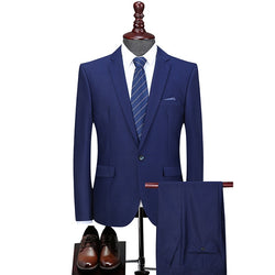 Men's Classic Dress Suit (Jacket+Pants)
