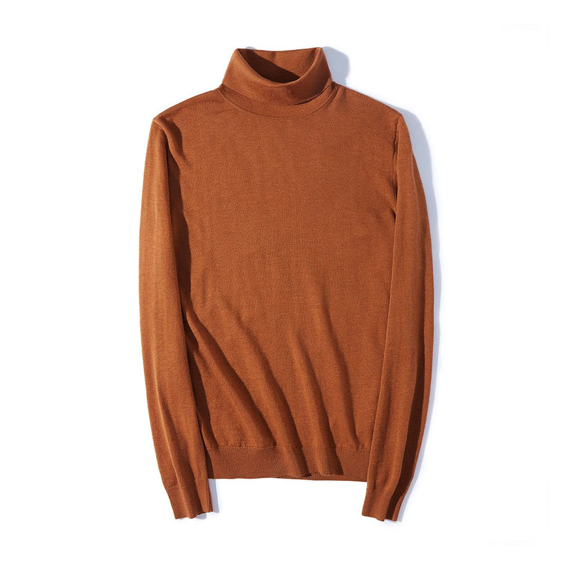 Men's Wool Turtle Neck Sweater