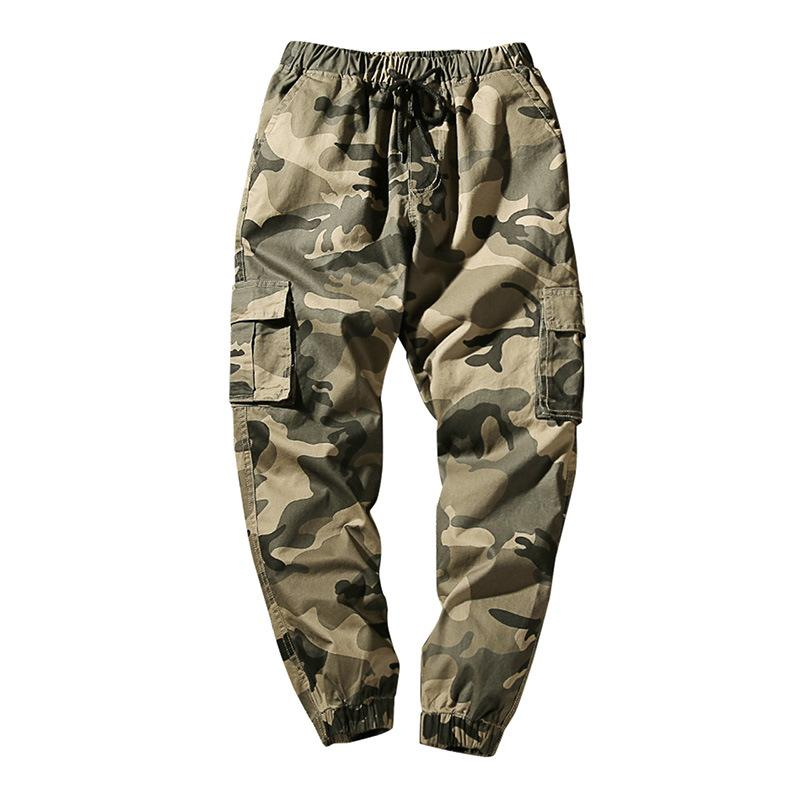Men's Cotton Casual Military Army Cargo Camo Combat Work Pants