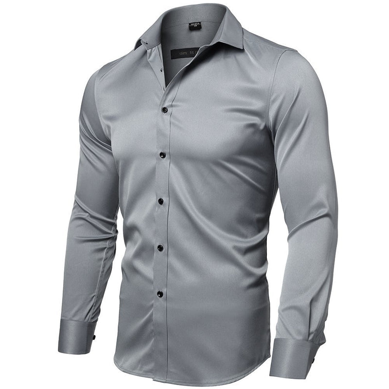 Men's Premium Fitted Dress Shirt