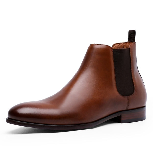 CLASSIC GENUINE LEATHER CHELSEA BOOTS