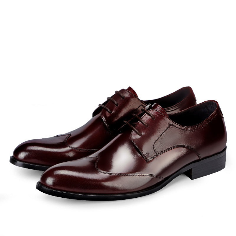 Classic British Oxford Dress Shoes