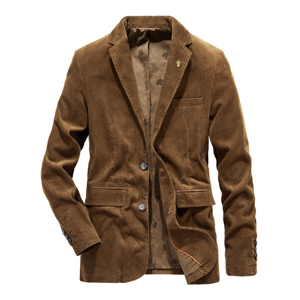 Men's Fitted Corduroy Jacket