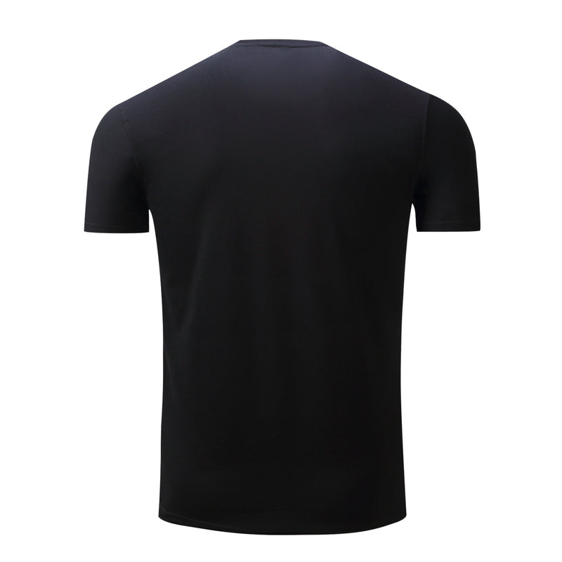 Men's 100% Cotton Pure Color T-shirt