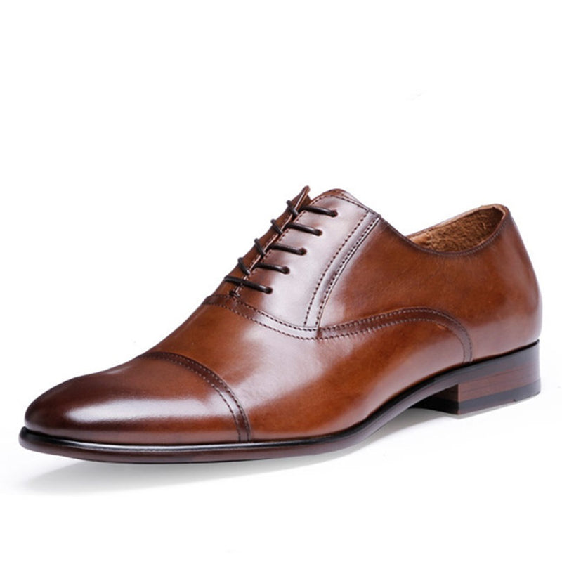 Classic Genuine Leather Oxford Shoes