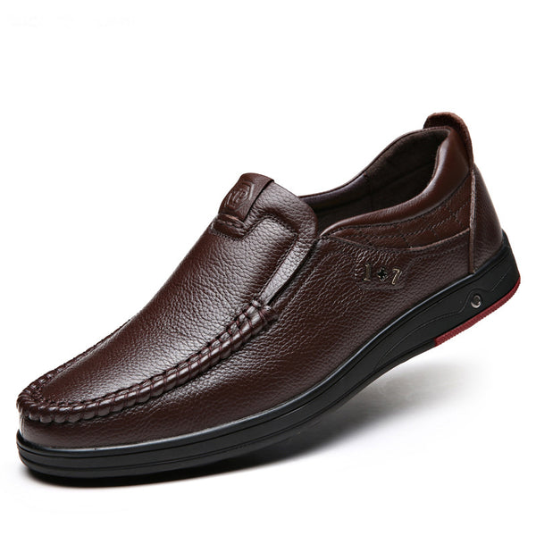 Leather Soft Slip-on Driving Shoes