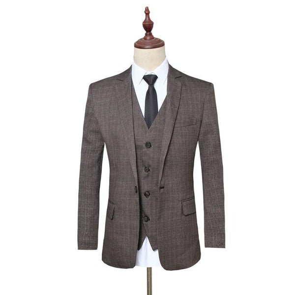 Men's Luxury Suits (Jacket+Pants+Vest)