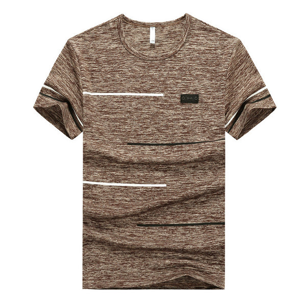4 Pack Men's Big Size Fitted T-shirts