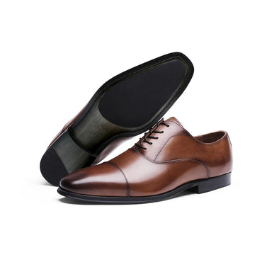 MEN'S Classic Cap Toe Oxford brown