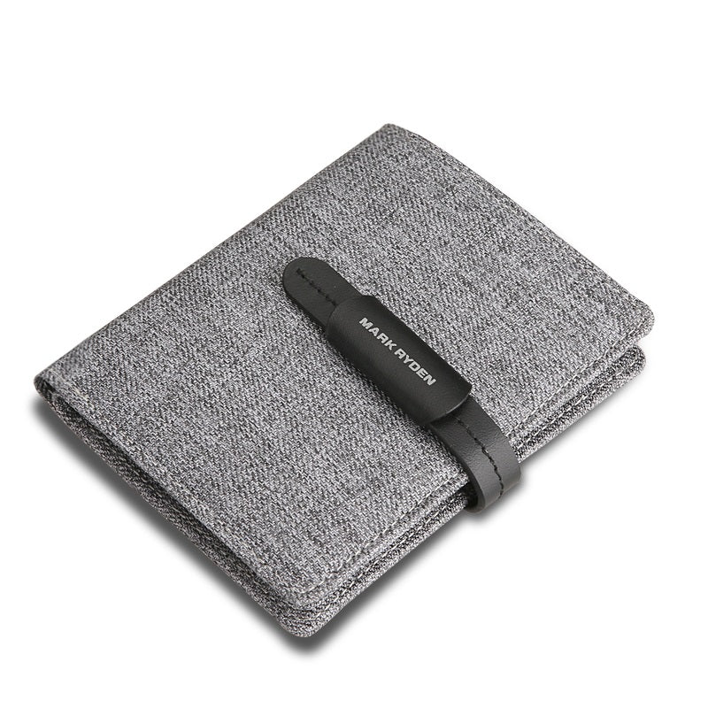 Minimalist Mens Oxford Wallet
