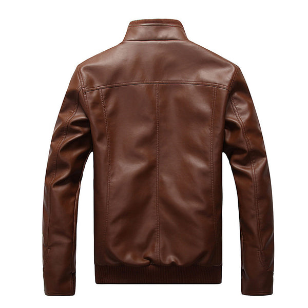 Men's Premium Spring Slim Leather Jacket
