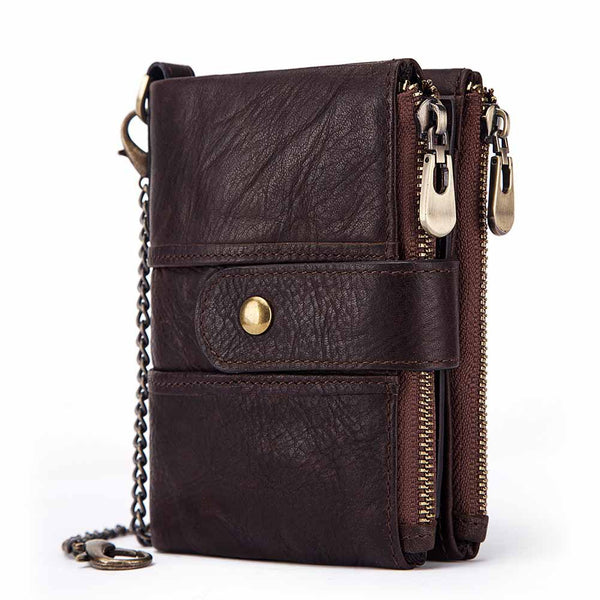 Retro Genuine Leather Wallet