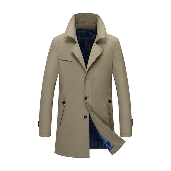 Men's Premium Spring Trench Coat
