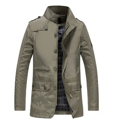 Men's Thin Casual Work Jacket