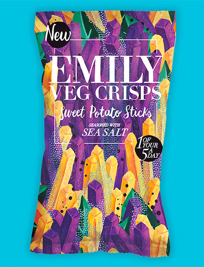 Emily crisps / Sticks de patate douce 35g