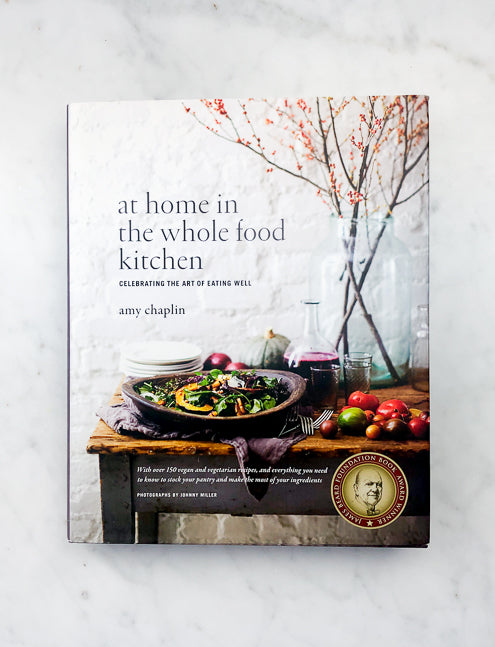Livre de recettes / At home in the whole food kitchen (Anglais)