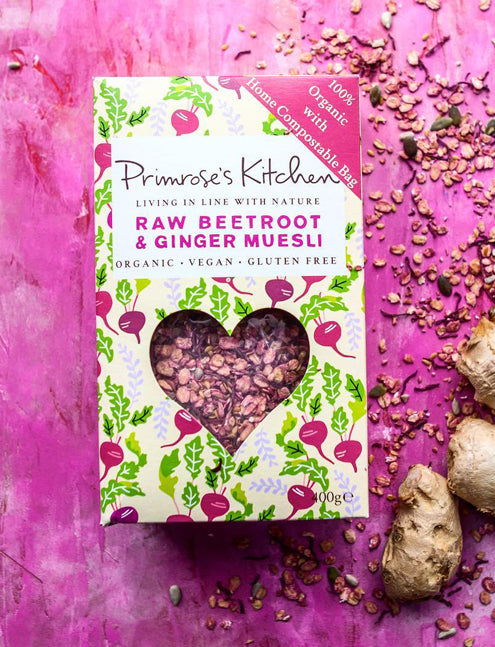 Primerose's Kitchen / Muesli betterave et gingembre crus