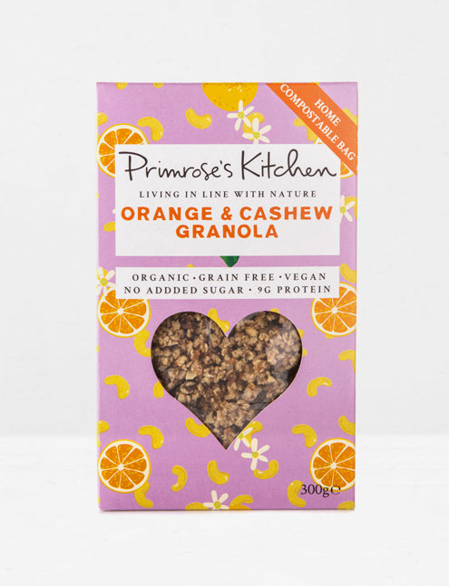 Primerose's Kitchen / Granola orange et noix de cajou