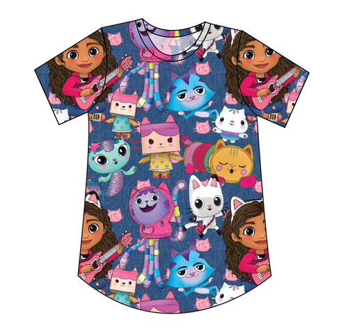 Gabby Cats Kids' Relaxed Tee