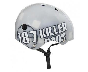 187 KILLER PADS  PRO HELMET BIG LOGO CLEAR