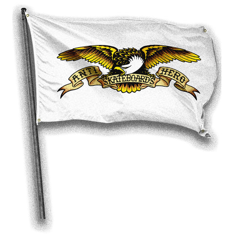 ANTIHERO BANNER EAGLE WHITE 36'X60'