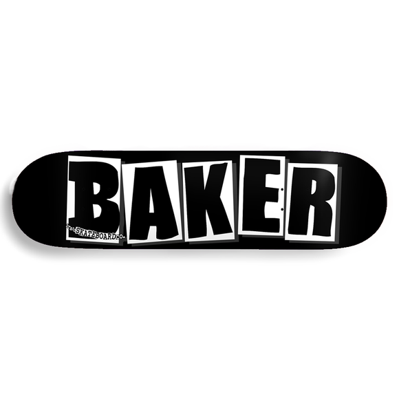 BAKER DECK OG LOGO BLACK/WHITE 8.25