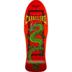 POWELL PERALTA DECK CABALLERO CHINESE DRAGON RED 10.0