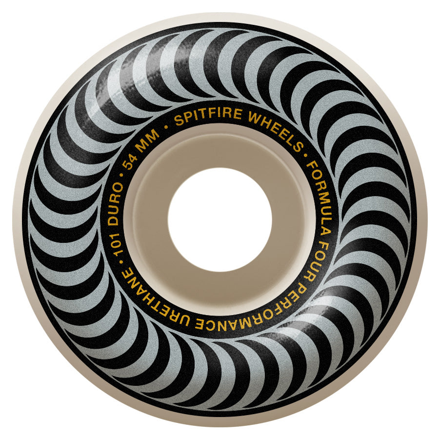 SPITFIRE WHEEL FORMULA FOUR 101D CLASSIC SWIRL 54MM