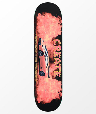 CREATE SKATEBOARD DIABLO FIRE 8.25